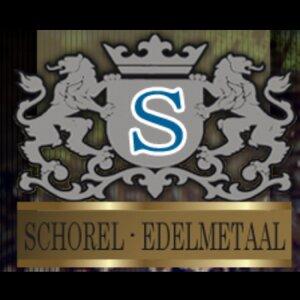 Schorel Edelmetaal logo