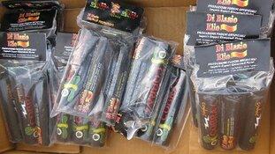 Zwaar illegaal vuurwerk bij jongeren in Vathorst