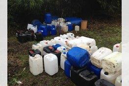 Politie zoekt getuigen van grootschalige dumping drugsafval