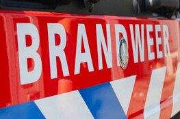 Geparkeerde auto vliegt in brand bij winkelcentrum in Hilversum