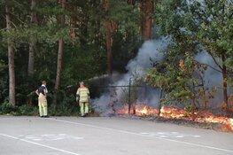 Stuk natuur afgebrand in Hilversum