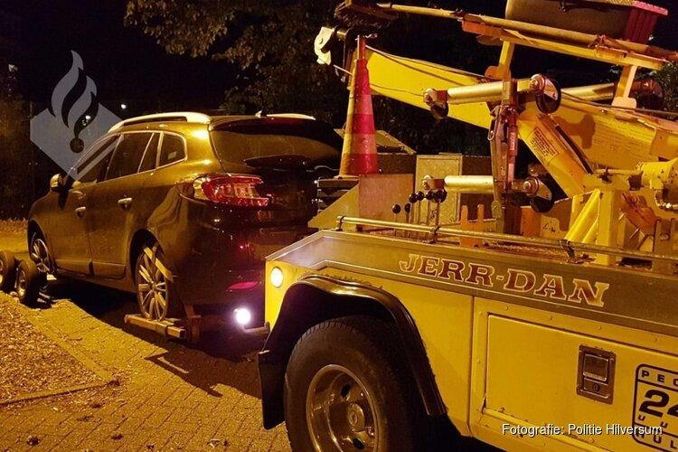 Man met gestolen auto gepakt na achtervolging door Hilversum