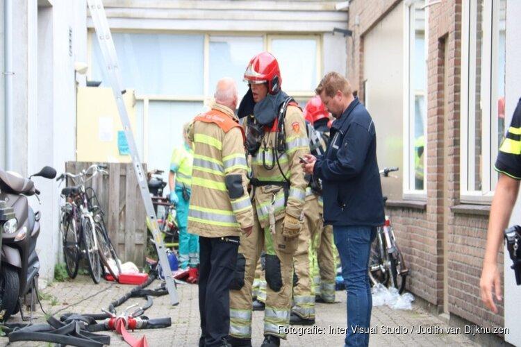 Slachtoffer felle woningbrand Hilversum overleden