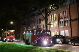 Brand in parkeergarage flatgebouw