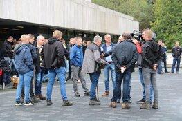 """Boeren protesteren ook voor NOS-gebouw: """"We zijn klaar met de media"""""""