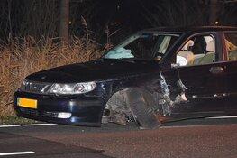 Veel schade bij ongeval Zandheuvelweg