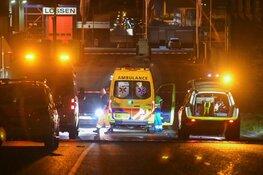 Verkeersongeluk bij terrein GAD-scheidingsstation Hilversum