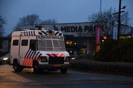 Zeker 30 trekkers proberen Mediapark te bezetten