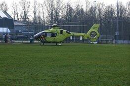 Oudere man zwaargewond bij ongeval in Hilversum