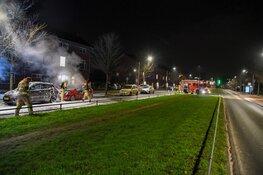 Auto uitgebrand in Hilversum