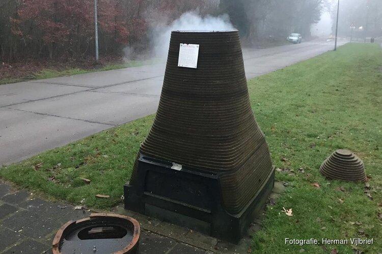 """Vuurwerkvandalen blazen Hilversums wormenhotel op: """"Ben er echt kapot van"""""""