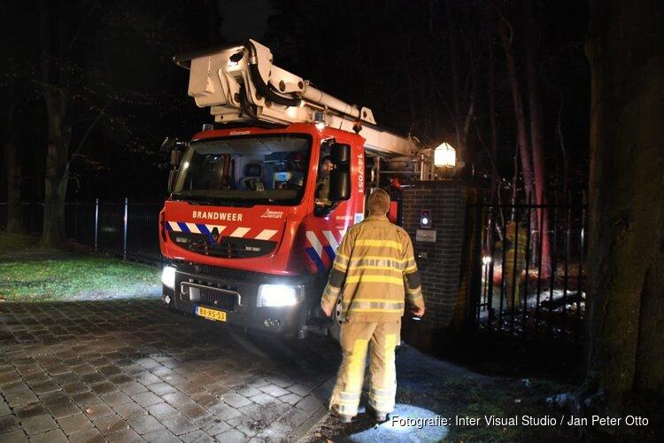 Groot alarm om brand in Hilversum