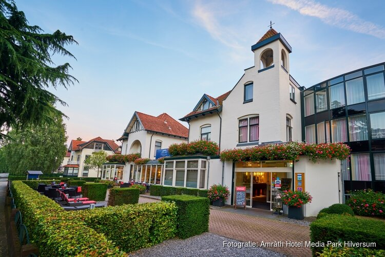 Tulip Inn Hilversum introduceert nieuwe naam en gaat verder als Amrâth Hotel Media Park Hilversum
