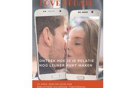 Theatervoorstelling LOVE UPDATE gaat 17 april 2020 in Hilversum in premiere