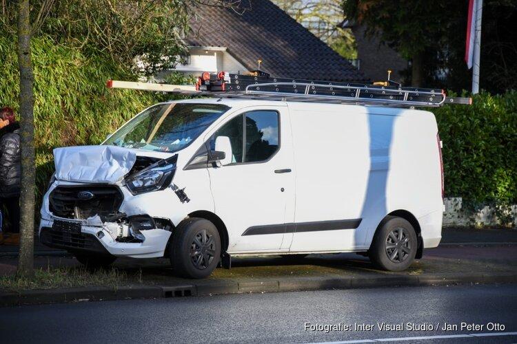 Flinke schade bij aanrijding in Hilversum