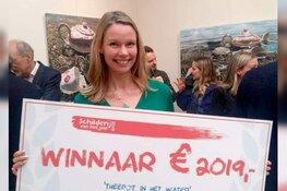 Kunstenaar Hannelore Houdijk wint 'Schilderij van het Jaar'