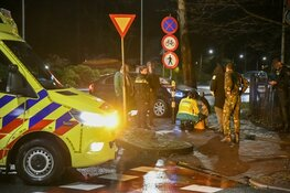 Twee auto's total loss bij flinke aanrijding in Hilversum