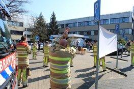 Brandweer Blaricum en Laren bedanken zorgmedewerkers