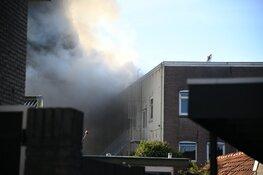 Grote brand in voormalige sigarenfabriek Hilversum