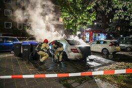 Autobrand in Hilversum, omwonenden alert