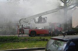 Brand in portiekwoning Hilversum