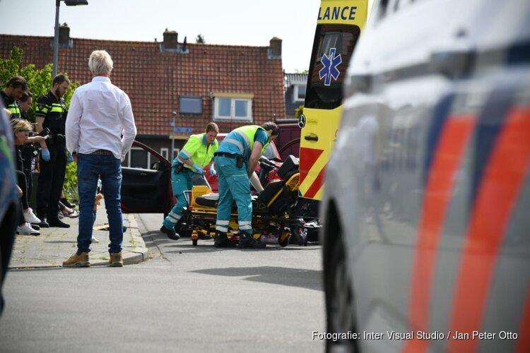 Bestuurster scootmobiel gewond in Hilversum