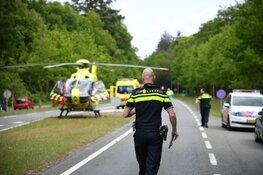 Fietser aangereden op Hilversumsestraatweg door vrachtwagen