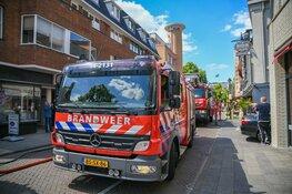 Brand in bovenwoning Hilversum
