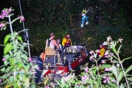 Vermiste man aangetroffen op talud in Hilversum