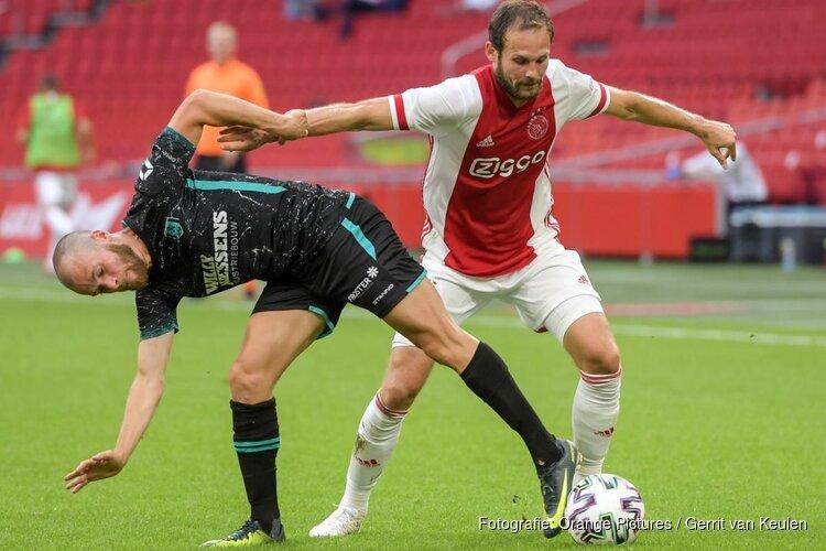 Ajax start oefencampagne met ruime zege op RKC
