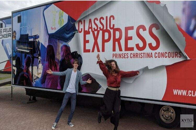 Rijdende concertzaal de 'Classic Express' komt naar Hilversum