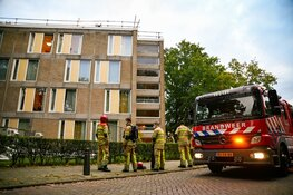 Brandje in zorgcentrum Gooierserf in Hilversum