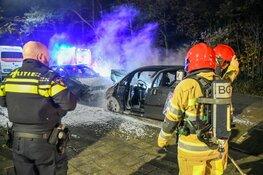 Twee auto's door brand verwoest in Hilversum