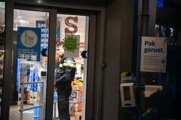 Overvallers supermarkt Hilversum overmeesterd door personeel