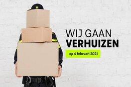 Politiebureau Hilversum verhuist op 4 februari